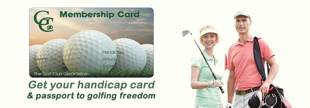 how to get a golf handicap index